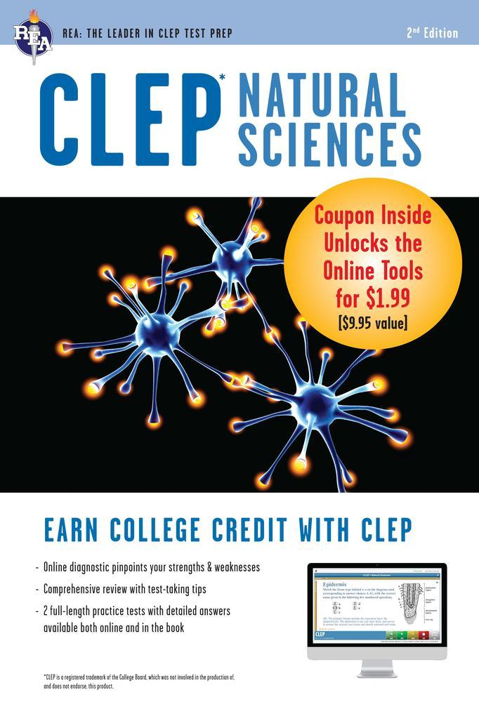 CLEP Natural Sciences Book + Online als eBook epub