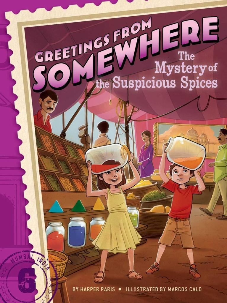 The Mystery of the Suspicious Spices als eBook epub
