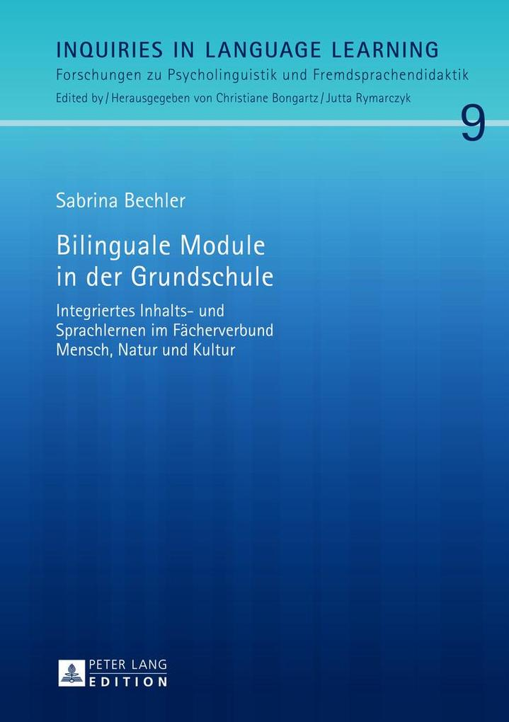 Bilinguale Module in der Grundschule als Buch (gebunden)