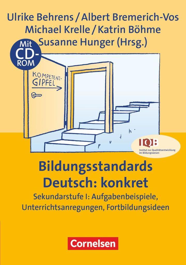Bildungsstandards Deutsch: konkret als Buch (gebunden)