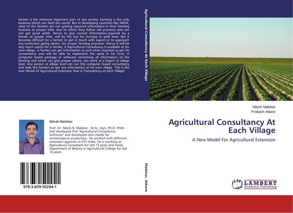 Agricultural Consultancy At Each Village als Buch (gebunden)