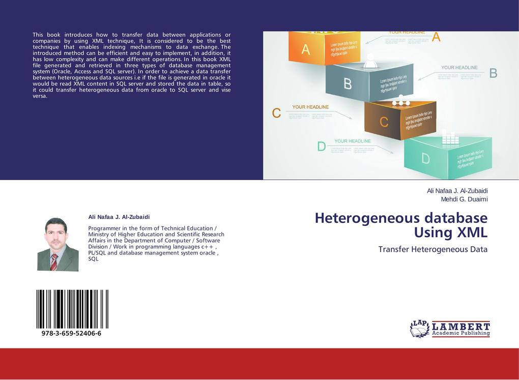Heterogeneous database Using XML als Buch (gebunden)