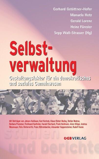 Selbstverwaltung als Buch von Gerhard Gstöttner...