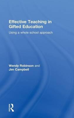 Effective Teaching in Gifted Education als Buch (gebunden)