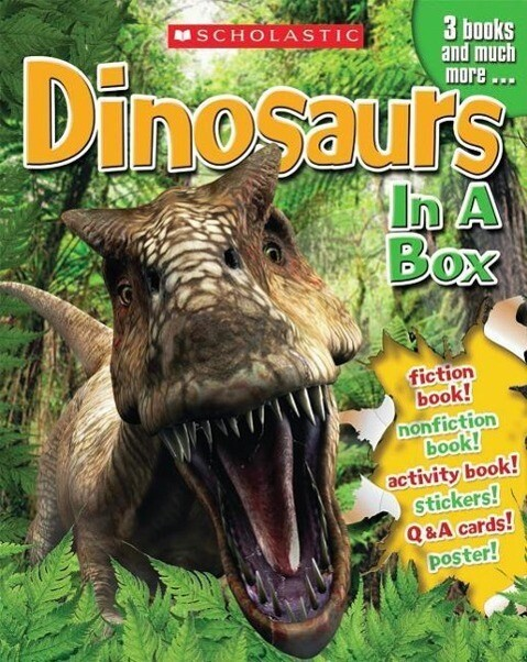 Dinosaurs in a Box [With Cards and Poster and 3 Books] als Taschenbuch