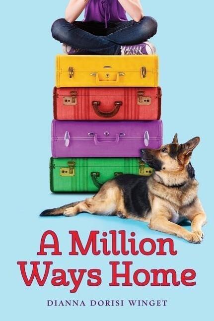 A Million Ways Home als Buch (gebunden)