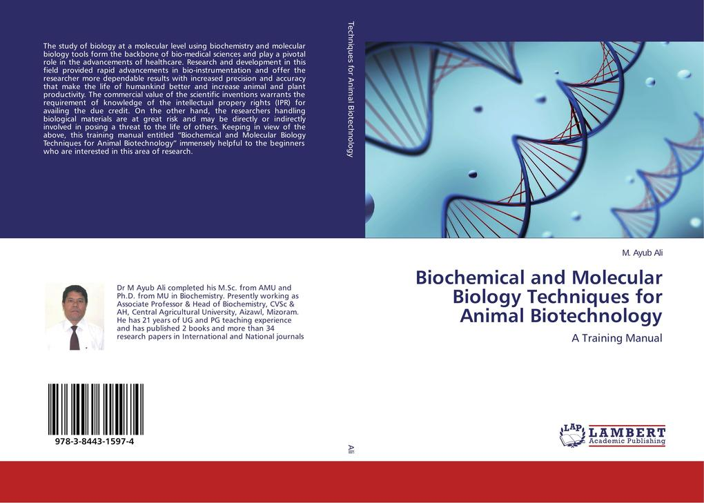 Biochemical and Molecular Biology Techniques for Animal Biotechnology als Buch (gebunden)