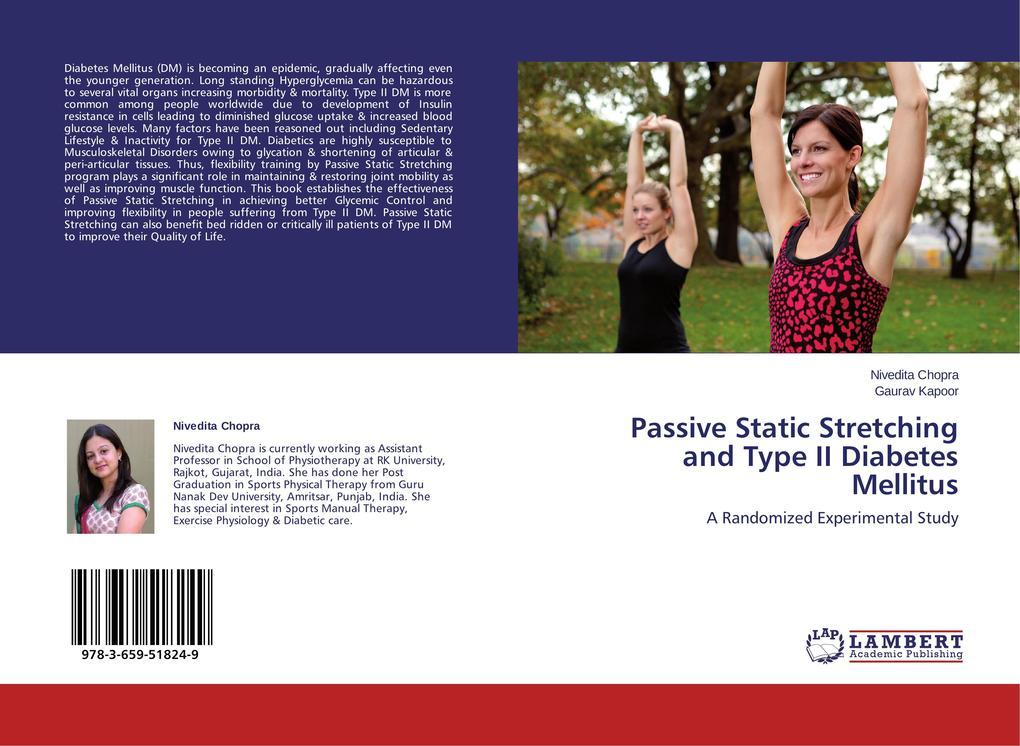 Passive Static Stretching and Type II Diabetes Mellitus als Buch (gebunden)