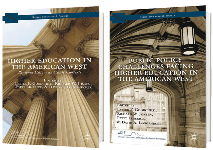Higher Education in the American West, 1818 to the Present als Buch (gebunden)