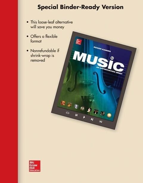 Flex Pack LL Music W/ Connect Plus Access Card and MP3 Download Card als Blätter und Karten