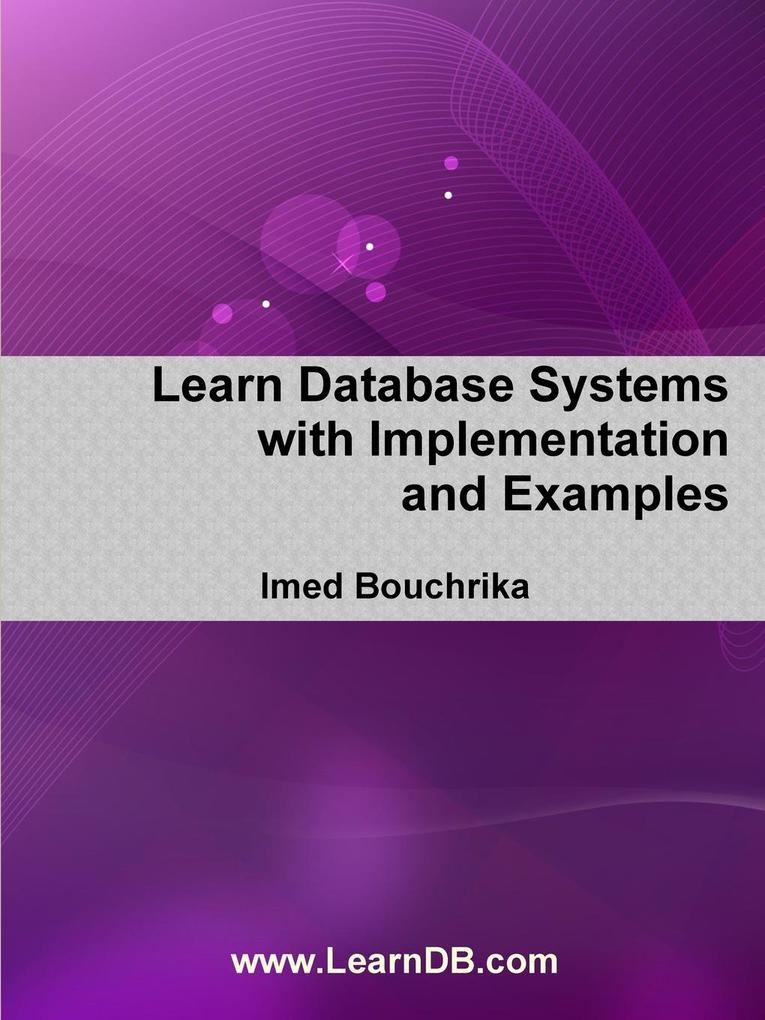 Learn Database Systems with Implementation and Examples als Taschenbuch