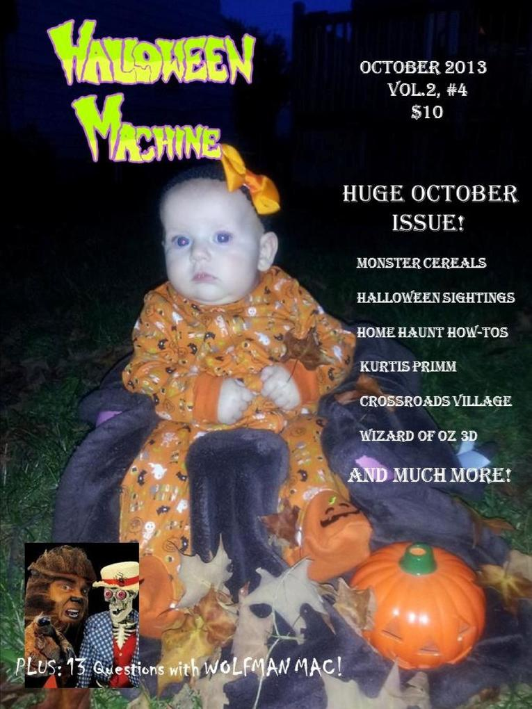 Halloween Machine October 2013 als Taschenbuch