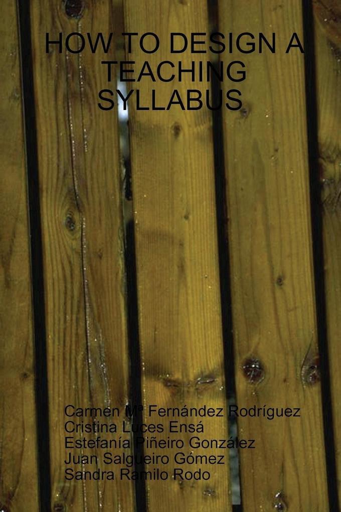 Designing a Good Teaching Syllabus als Taschenbuch