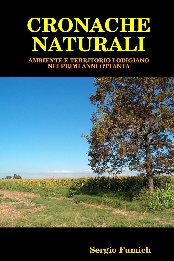 Cronache naturali als Taschenbuch