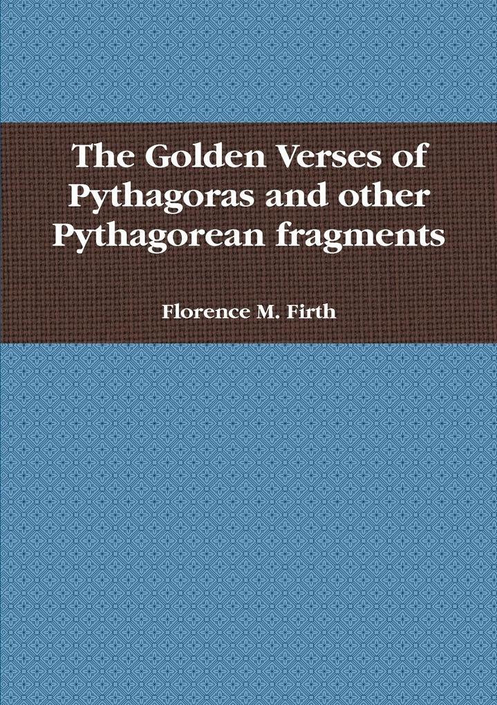 The Golden Verses of Pythagoras als Taschenbuch