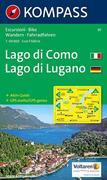 Lago di Como / Lago di Lugano 1 : 50 000