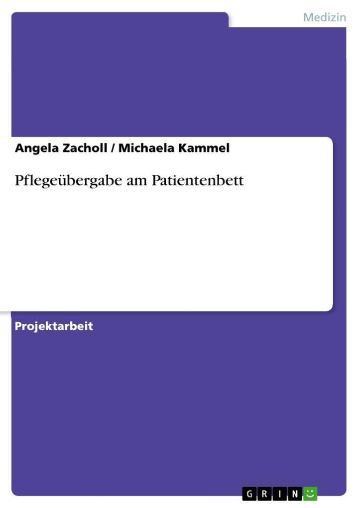 Pflegeübergabe am Patientenbett als eBook epub