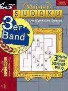 Meister Sudoku 3er-Band Nr. 1