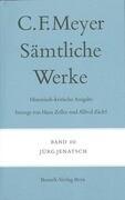 Sämtliche Werke. Historisch-kritische Ausgabe 10. Jürg Jenatsch
