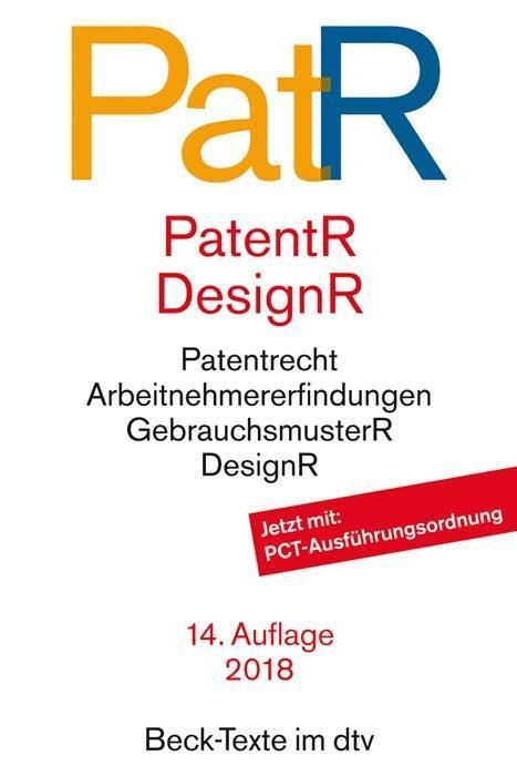 Patent- und Designrecht als Taschenbuch
