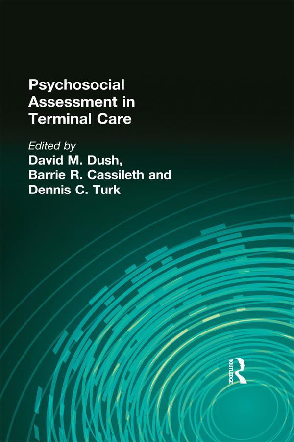 Psychosocial Assessment in Terminal Care als eBook pdf