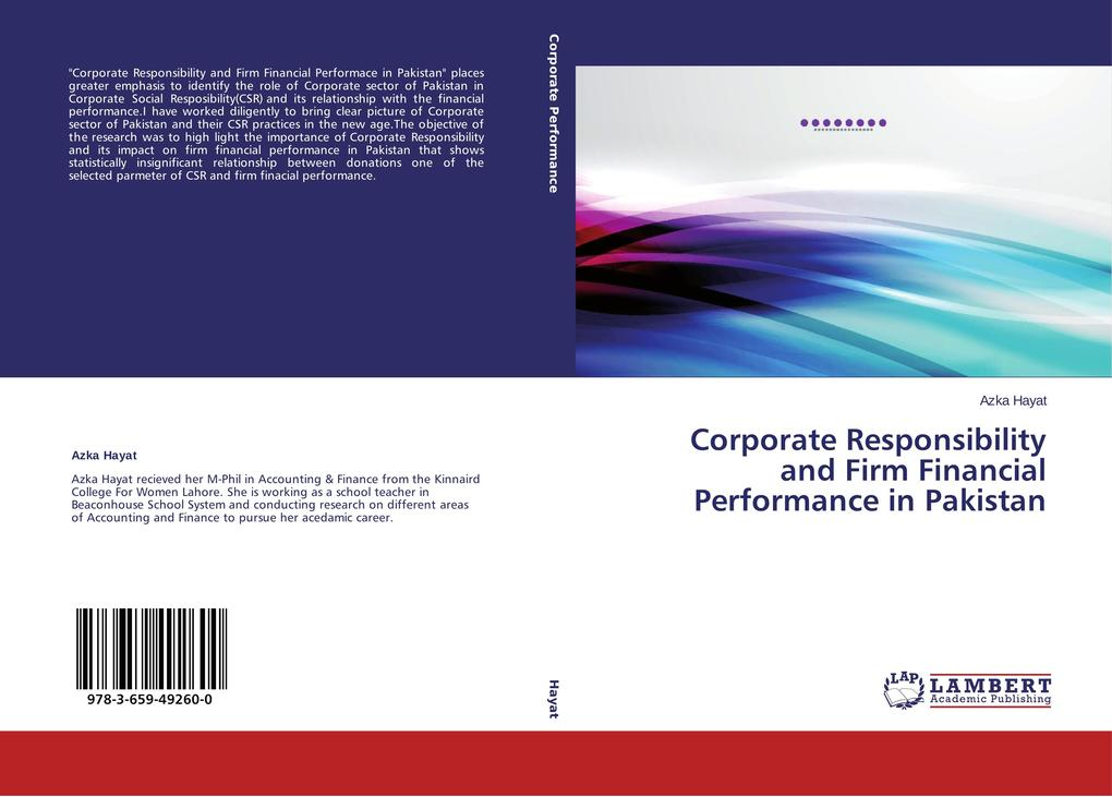 Corporate Responsibility and Firm Financial Per...