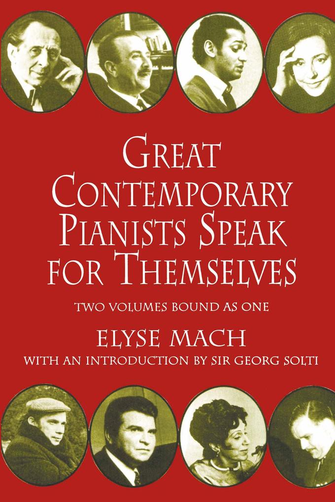 Great Contemporary Pianists Speak for Themselves als eBook epub
