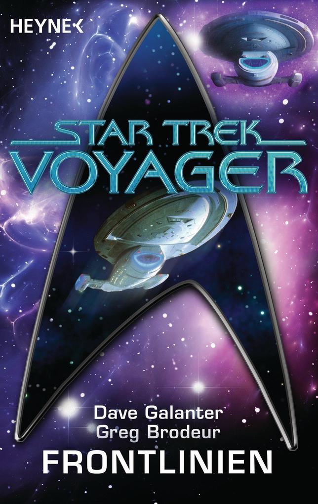 Star Trek - Voyager: Frontlinien als eBook epub
