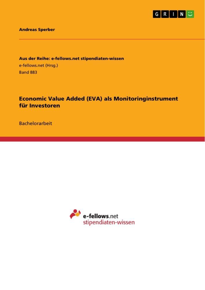 Economic Value Added (EVA) als Monitoringinstru...