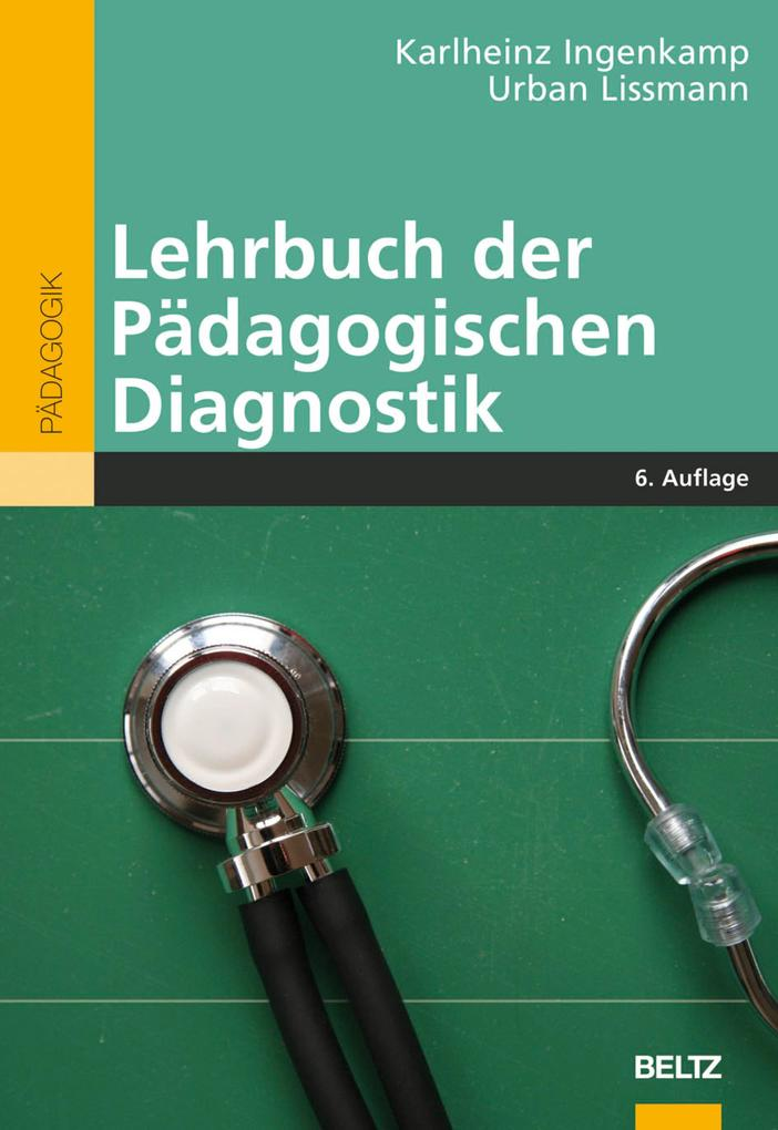 Lehrbuch der Pädagogischen Diagnostik als eBook