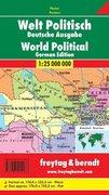 Welt politisch 1 : 25 000 000 deutsch