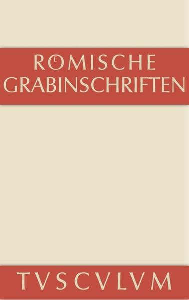 Römische Grabinschriften als Buch