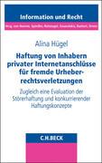 Haftung von Inhabern privater Internetanschlüsse für fremde Urheberrechtsverletzungen