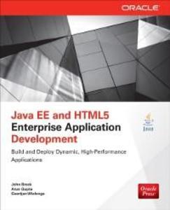 Java EE and HTML5 Enterprise Application Develo...