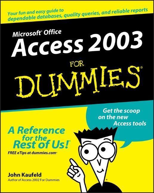 Access 2003 for Dummies als Buch (kartoniert)