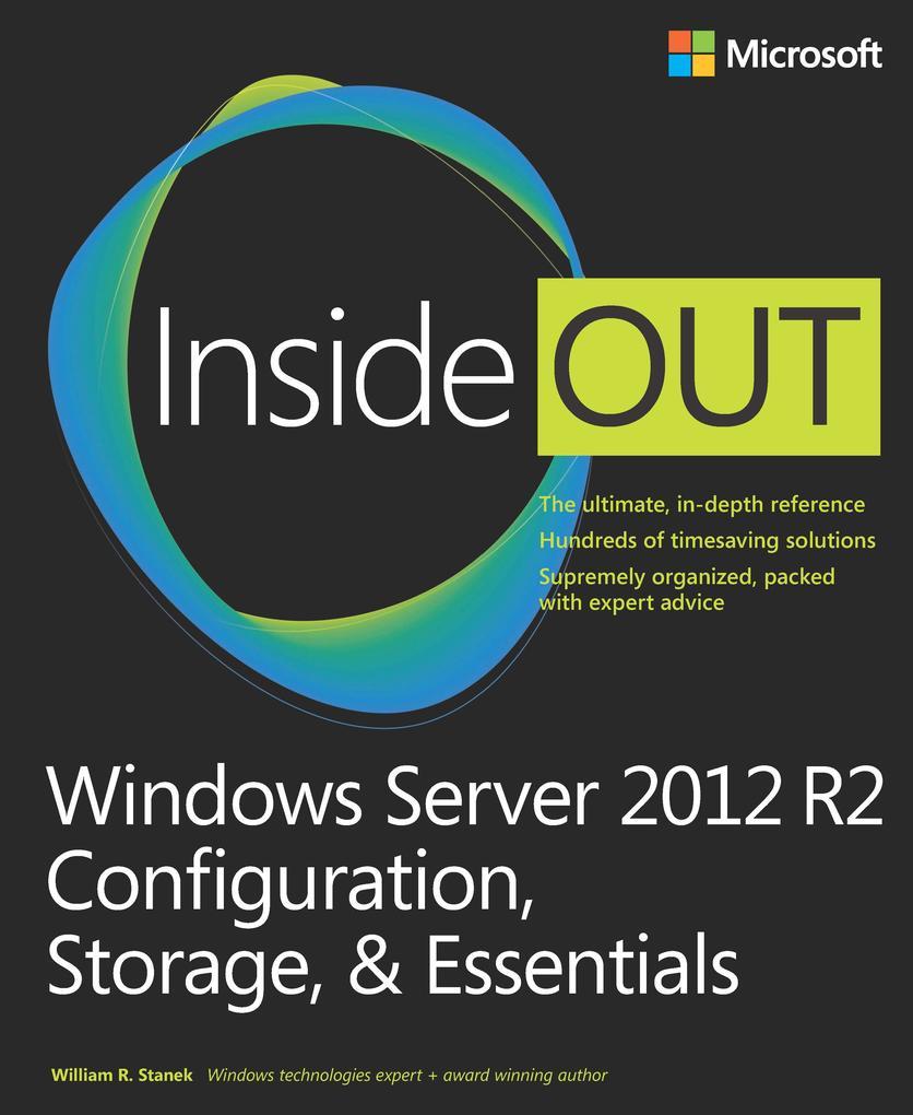 Windows Server 2012 R2 Inside Out Volume 1 als ...