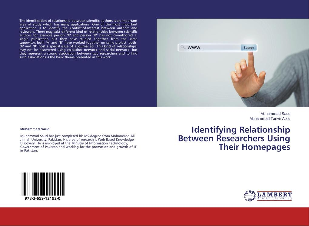 Identifying Relationship Between Researchers Us...