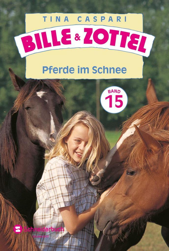 Bille und Zottel Bd. 15 - Pferde im Schnee als ...