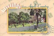 Greetings from Apple Country: A Postcard Book