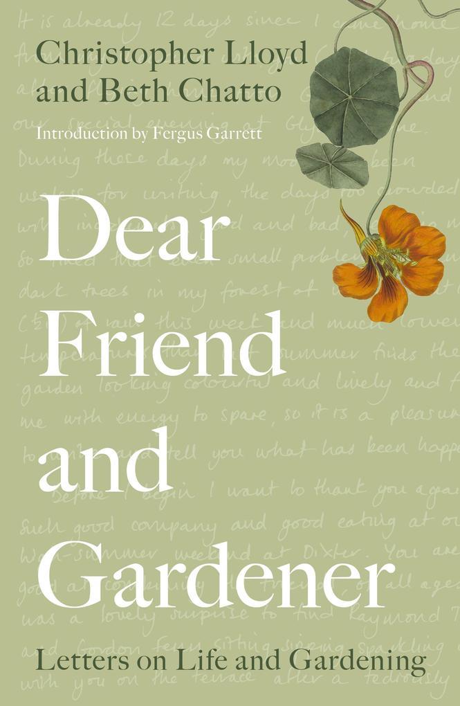 Dear Friend and Gardener als eBook Download von...