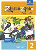 Zahlenzorro - Das Heft. Forderheft 2
