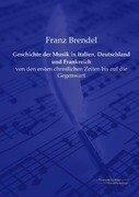Geschichte der Musik in Italien, Deutschland und Frankreich