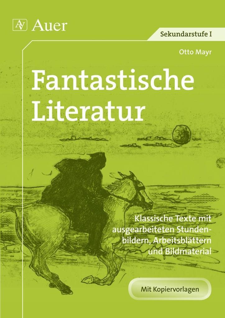 Fantastische Literatur als Buch von Otto Mayr
