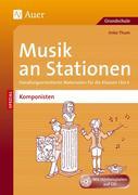 Musik an Stationen Spezial Komponisten 1-4