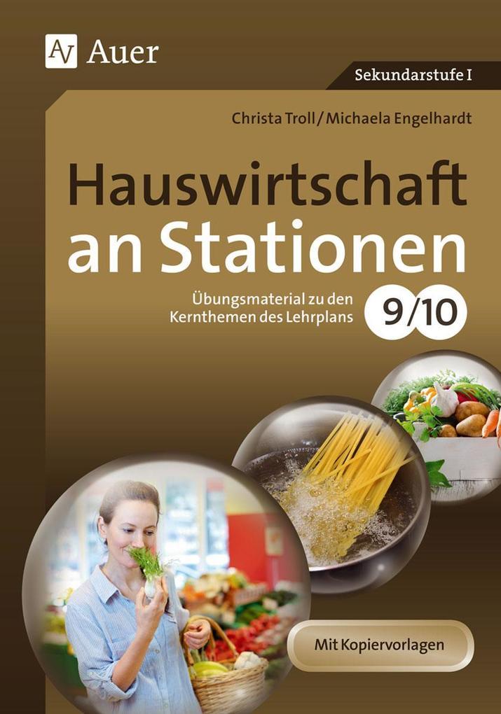 Hauswirtschaft an Stationen 9-10 als Buch