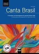 Canta Brasil. Chorleiterausgabe mit Audio-CD/Conductor's Edition with Audio-CD