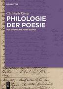 Philologie der Poesie