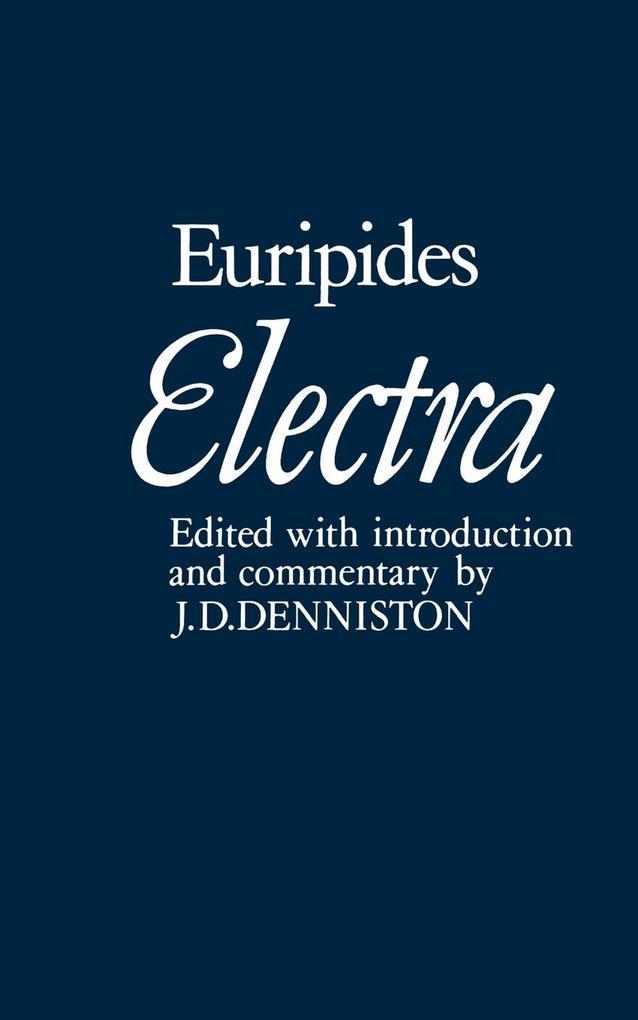 Electra als Buch
