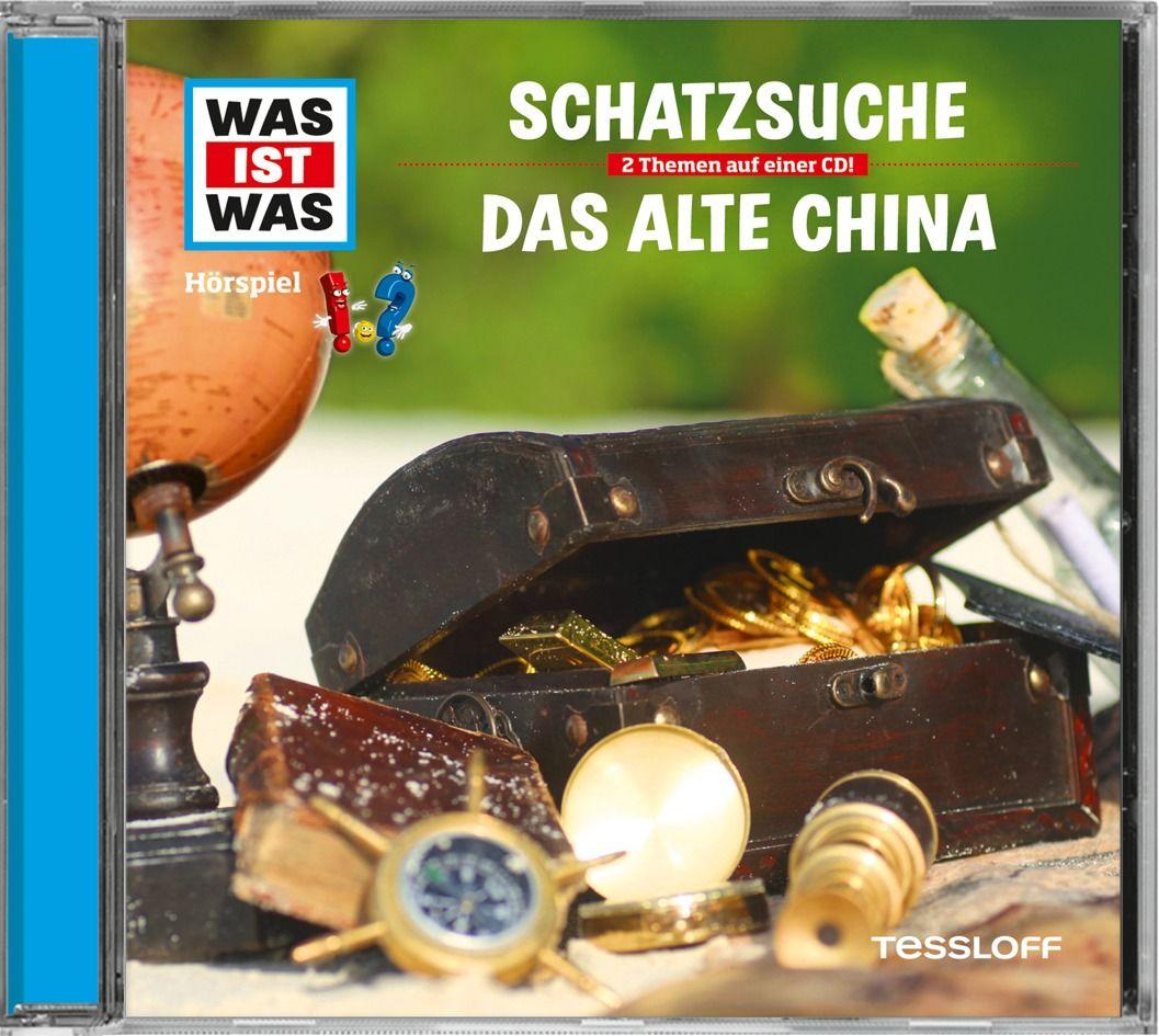 Was ist was Hörspiel-CD: Schatzsuche/ Das alte China als Hörbuch