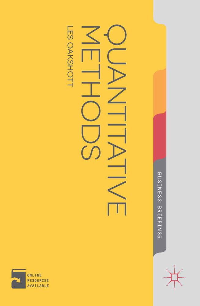 Quantitative Methods als Buch von Les Oakshott